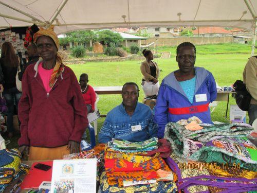 Craft fair in Kampala